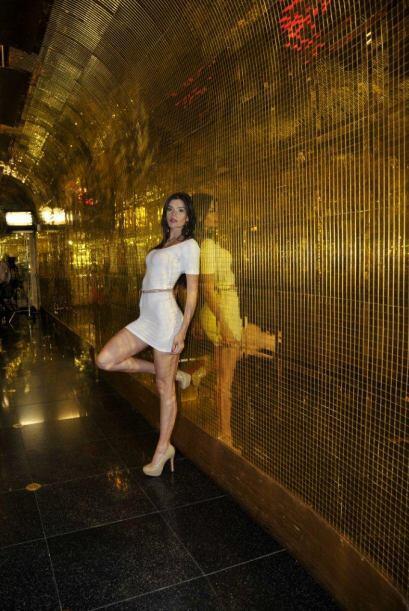 La ex participante de Nuestra Belleza Latina, Gretchen Serrao, habl&oacu...