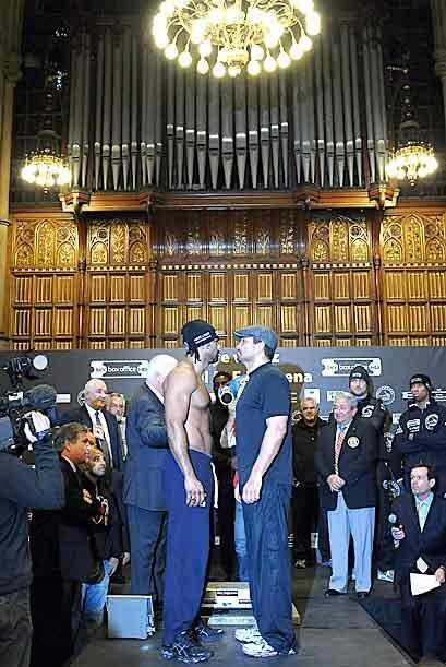 La Haye vs Ruiz, será el primer combate por el título pesado en Inglater...
