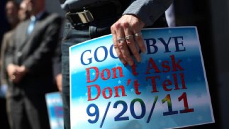 La derogación de la ley Don't ask, don't tell que impedía a soldados abi...
