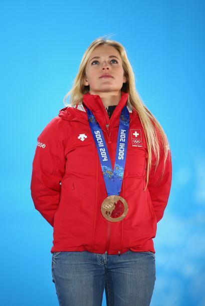 Esta chica suiza también es actriz y apareció en el filme...