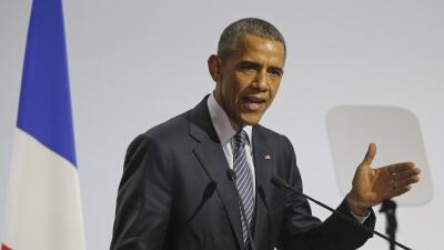 Obama en su discurso en la cumble del clima en París