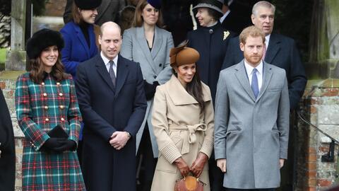 La primera Navidad de Meghan Markle con la familia real