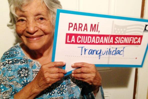 Petra Navarro - madre de 7 hijos y abuela de 10, ejemplo a seguir, expre...