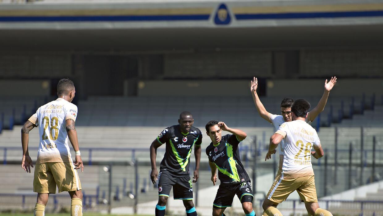Pumas jugó su primer partido rumbo al Clausura 2016.