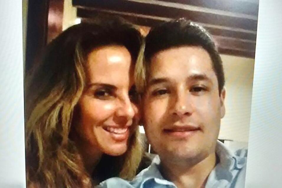"""Kate del Castillo con Jesús Alfredo Guzmán Salazar, hijo de """"El Chapo"""" G..."""