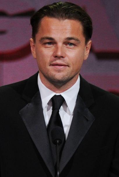 Para sorpresa de muchos, Leonardo DiCaprio no está en los primeros lugar...