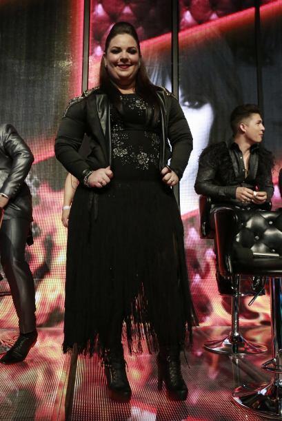 Yazaira López en la gala 7.