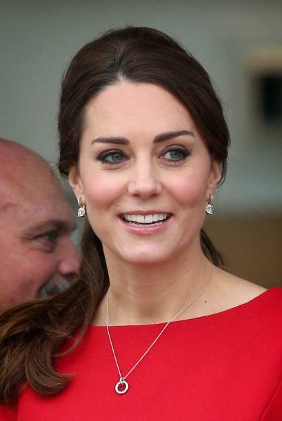 La Duquesa de Cambridge no pudo contener las lágrimas en su pasada visit...