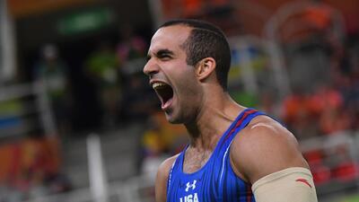En fotos: Las dos medallas de plata que el gimnasta estadounidense Danell Leyva se trae a Miami