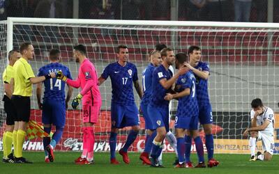 Los balcánicos hicieron valer su ventaja y calificaron a Rusia 2018