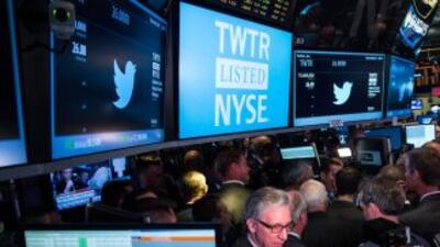 Los títulos de Twitter llegaron a la Bolsa de Nueva York el 7 de noviemb...