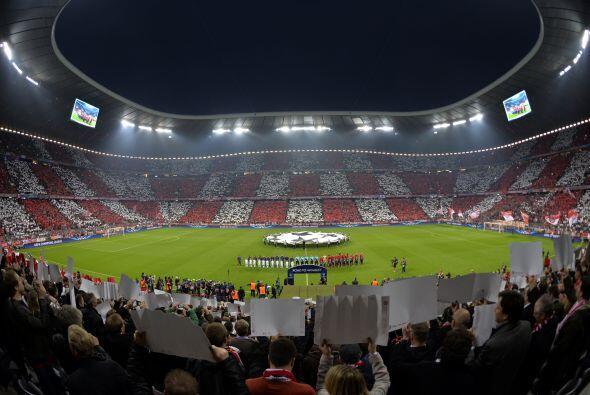 El Allianz Arena fue la sede de un partido de pronóstico reservado en la...