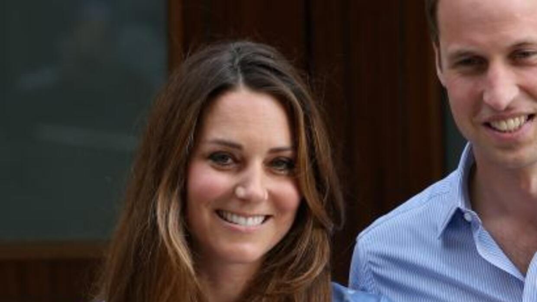 Imágenes del bebé de Kate Middleton y el Príncipe William.