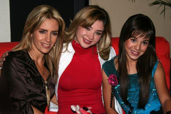 """Junto a Danna Paola y Graciela Mauri (""""Mundo de Juguete"""") formaron parte..."""