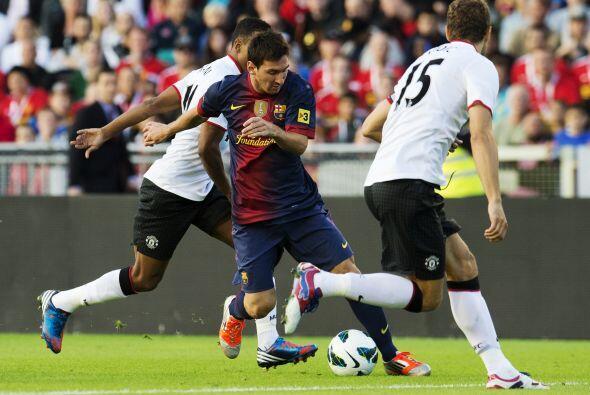 Los barcelonistas contaban con la pelota, pero no estaban muy atinados d...