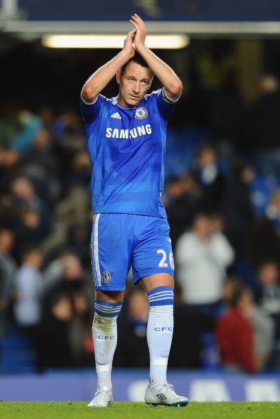 Terry lleva más de 10 años en las filas de los 'Blues', es pieza clave p...