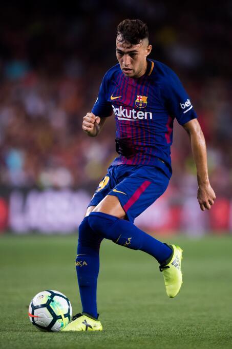 Y mientras piensa en llevar jugadores, el equipo catalán también se muev...