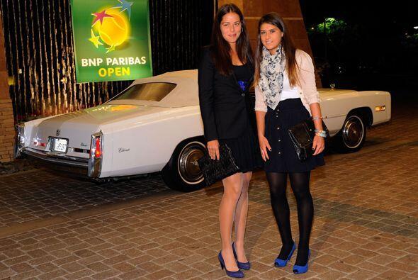 Los mejores tenistas del mundo se encuentran en Indian Wells y tuvieron...
