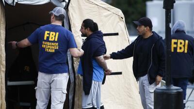Agentes federales dirigen a uno de los 21 líderes de la pandilla MS-13 a...