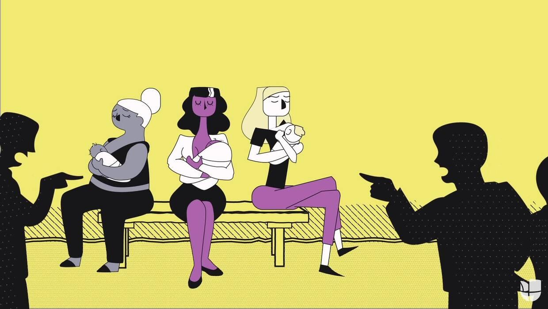 Historias en femenino: la batalla de las madres por amamantar en público