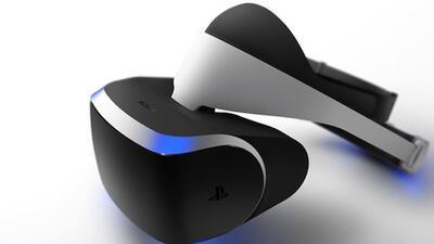 Sony dice que su periférico de realidad virtual estará listo muy pronto.