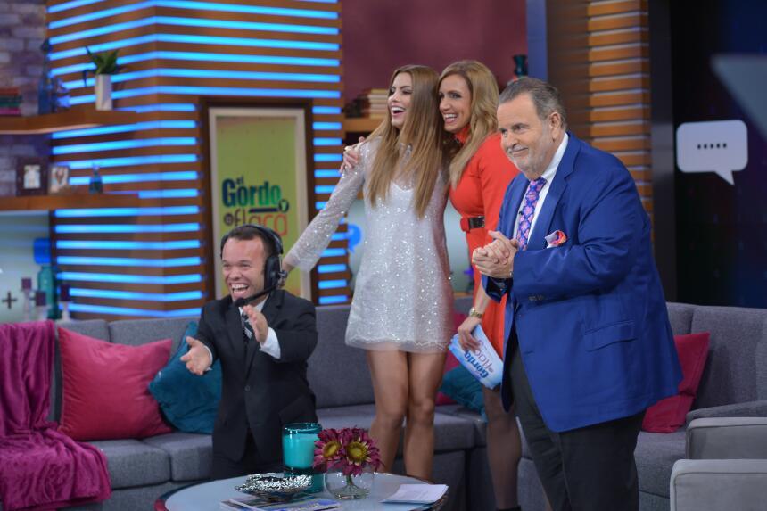 ¡Miss Colombia pasó un día increíble con El Gordo y La Flaca! DSC_3404.JPG