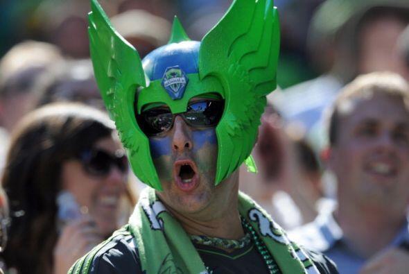 Hablando de enmascarados, en Seattle también el Sounders tiene sus super...