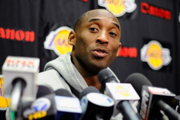 Debido al 'lockout' de la NBA no se sabe qué pasará con el futuro de Kob...