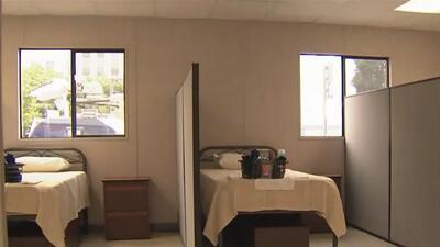 Este lunes llegará el primer grupo de desamparados al nuevo albergue de Los Ángeles