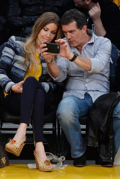 """La pareja se tomó algunas """"selfies""""."""