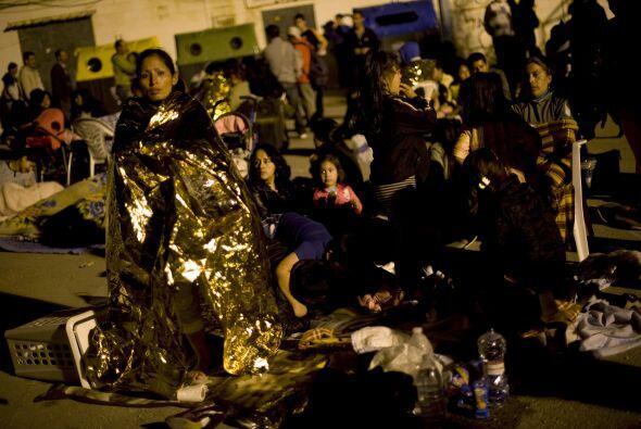La cifra de las personas que pasaron la noche a la intemperie fue calcul...