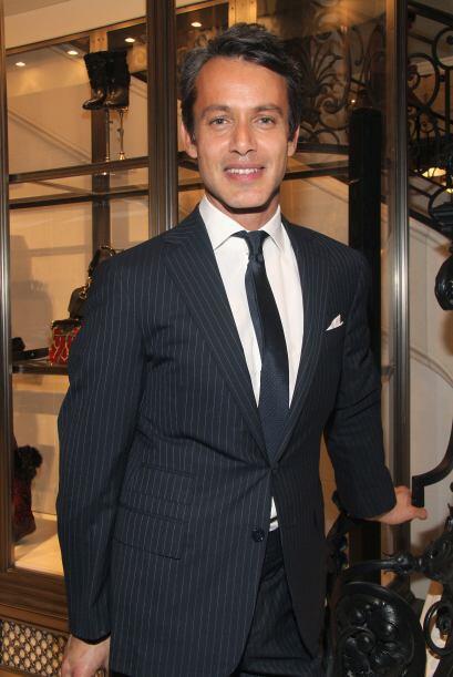Él también es un príncipe pero de la moda, es Andrew Lauren, hijo de, sí...