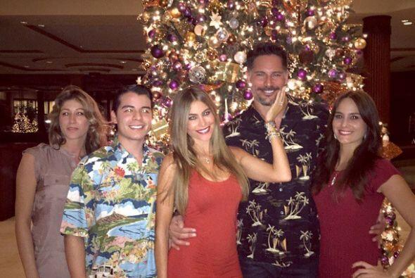 La colombiana pasó una Navidad llena de amor junto a su familia, pero so...