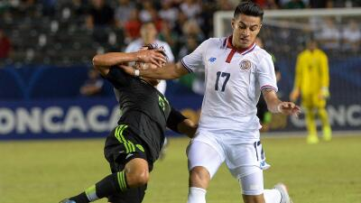 Ronald Matarrita con la selección de Costa Rica.