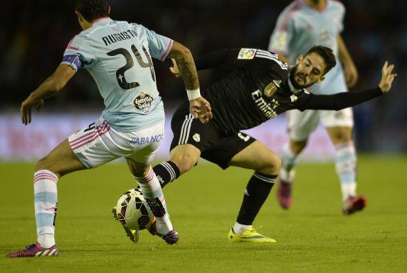 Celta de Vigo fue muy peligroso y aprovechaba los errores de la defensa...