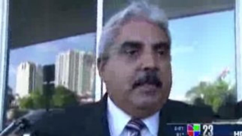 Miguel Expósito no hizo declaraciones