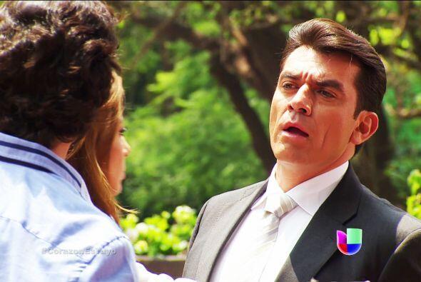 Como ves, Fernando está súper celoso de verte con Diego.