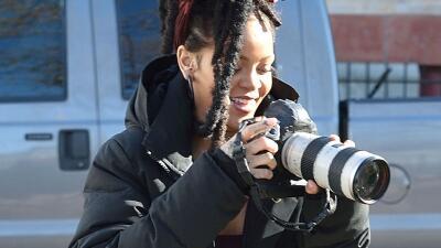 Rihanna es paparazzi por un día