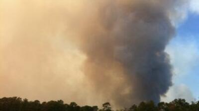 Incendios área de Houston