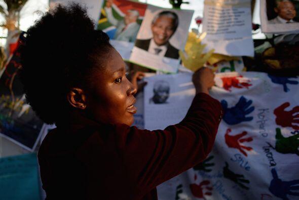 """""""Queremos visitar al Tata Mandela para discutir lo que debe hacerse"""", de..."""