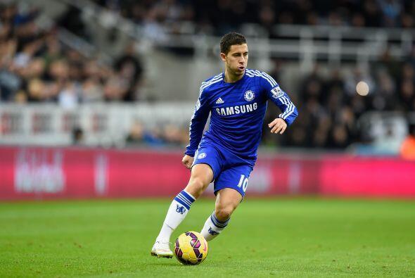Eden Hazard: Es una de las figuras del Chelsea de Mourinho y suena muy p...