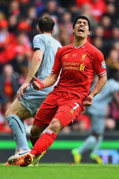 La magia ante la portería de Luis Suárez no se veía en el momento que má...