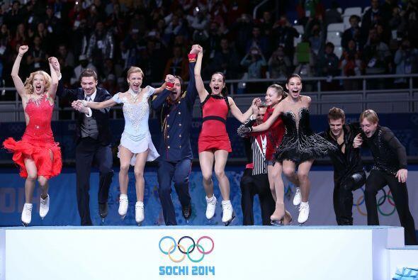 Rusia, la selección anfitriona, logró la primera medalla de oro de la pr...