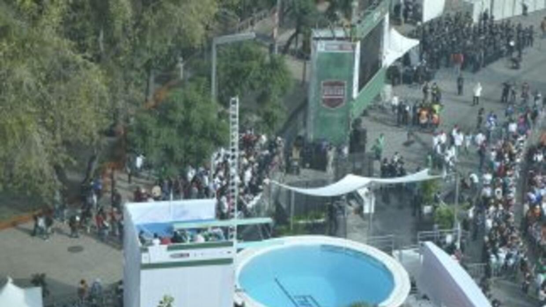 El Paseo de la Reforma fue escenario de una exhibición deportiva con mot...