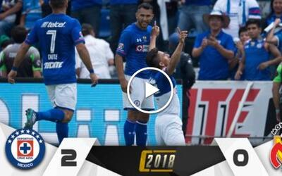 Cruz Azul vs. Morelia en vivo Clausura 2018