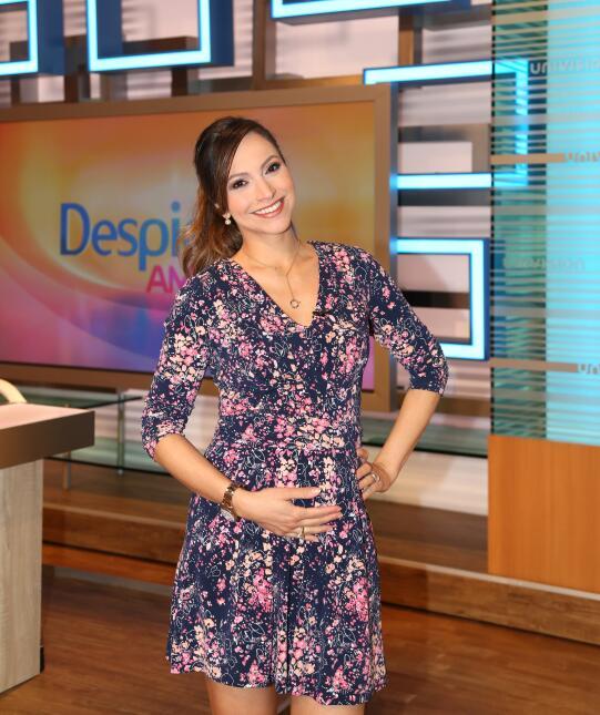 Satcha Pretto con 18 semanas de ambarazo