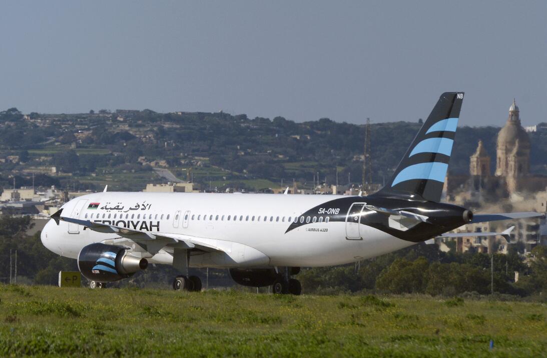 Avión Secuestrado malta