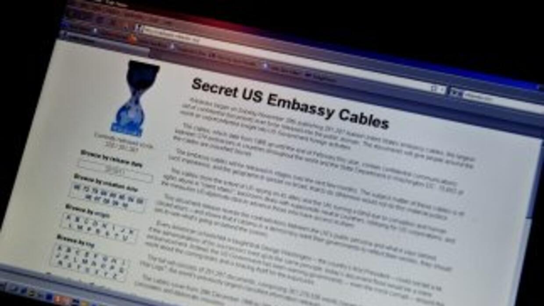 Los documentos revelados por WikiLeaks causaron un revuelo de proporcion...