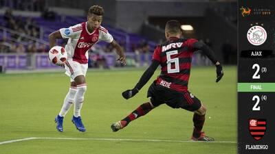 Florida Cup: Ajax y Flamengo brindan un show, pero los brasileños se lo llevan en penales