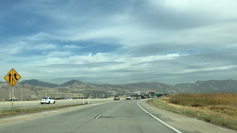 Llegada a Salt Lake City, capital de Utah.